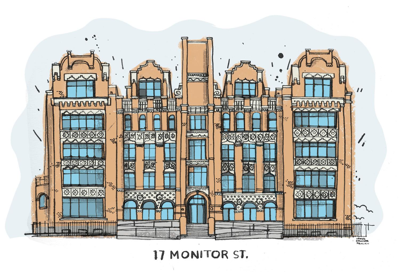 17 Monitor St. Brooklyn, NY, 11222