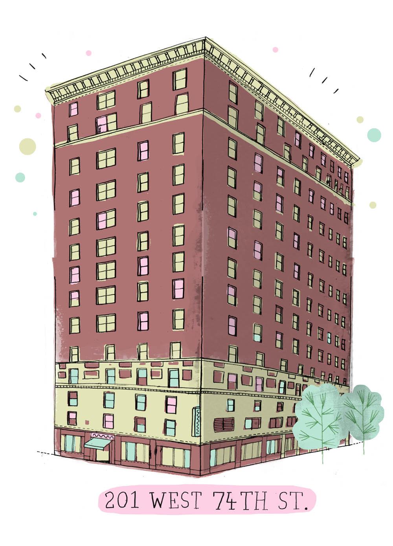 201 West 74th St. New York, NY, 10023
